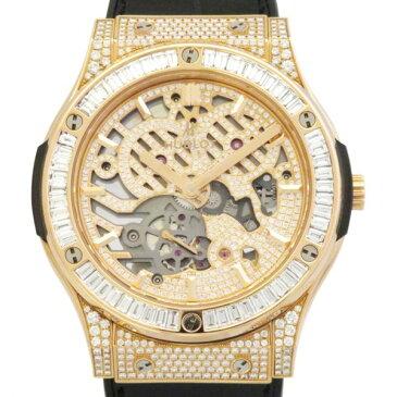 ウブロ HUBLOT クラシックフュージョン クラシコ ウルトラシン 515.OX.9000.LR.0904 スケルトン文字盤 メンズ 腕時計 【新品】