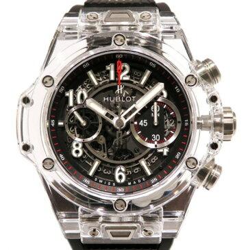 ウブロ HUBLOT ビッグバン ウニコ マジックサファイア 世界限定500本 411.JX.1170.RX グレー文字盤 メンズ 腕時計 【新品】