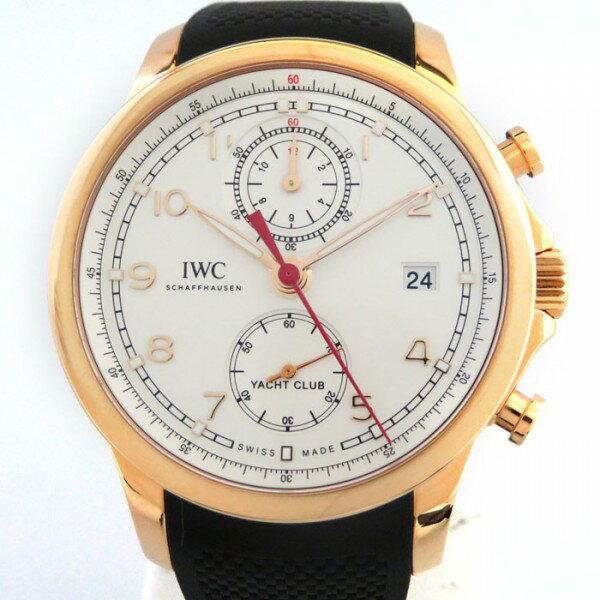 【限定 ポイント10倍 3/21〜】IWC IWC ポルトギーゼ ヨットクラブ IW390501 ホワイト文字盤 メンズ 腕時計 【新品】