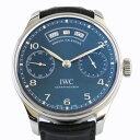 アイ・ダブリュ・シー IWC ポルトギーゼ アニュアルカレンダー IW503502 ネイビー文字盤 レディース 腕時計 【新品】