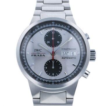 インターナショナル・ウォッチ・カンパニー IWC GSTクロノ PRADA 世界限定2000本 IW370802 シルバー文字盤 メンズ 腕時計 【中古】