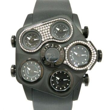 ジェイコブ JACOB&CO その他 グランド ケースダイヤ JC-GR5-20 ブラック文字盤 メンズ 腕時計 【新品】