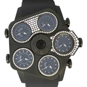 ジェイコブ JACOB&CO その他 グランド ケースダイヤ JC-GR5-23 ブラック文字盤 メンズ 腕時計 【新品】
