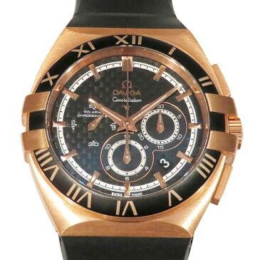 オメガ OMEGA コンステレーション ダブルイーグル クロノグラフ 121.62.41.50.01.001 ブラック文字盤 メンズ 腕時計 【新品】