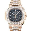パテック・フィリップ PATEK PHILIPPE ノーチラス クロノグラフ 5980/1400R-012 ブラウン/ブラック文字盤 メンズ 腕時計 【新品】