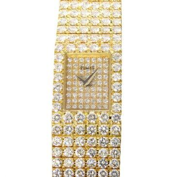 ピアジェ PIAGET トラディション 15201 C626 ゴールド文字盤 中古 腕時計 レディース