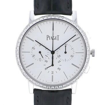 ピアジェ PIAGET ウルトラシン GMT クロノグラフ G0A40031 ホワイト文字盤 新品 腕時計 メンズ