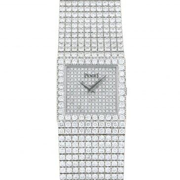 ピアジェ PIAGET 9131C626 全面ダイヤ文字盤 中古 腕時計 レディース