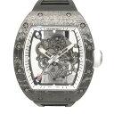 リシャール・ミル RICHARD MILLE バッバ・ワトソン ホワイトレジェンド アメリカ限定88本 RM055 ブラック文字盤 新品 腕時計 メンズ
