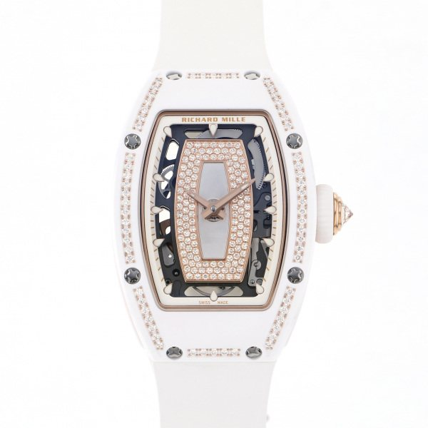 リシャール・ミル RICHARD MILLE RM07-01 ゴールド文字盤 新品 腕時計 レディース