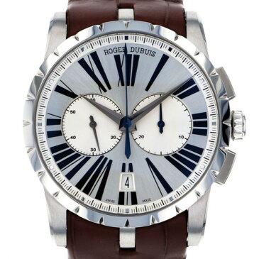 ロジェ・デュブイ ROGER DUBUIS エクスカリバー 42 クロノグラフ RDDBEX0388 シルバー文字盤 メンズ 腕時計 【新品】