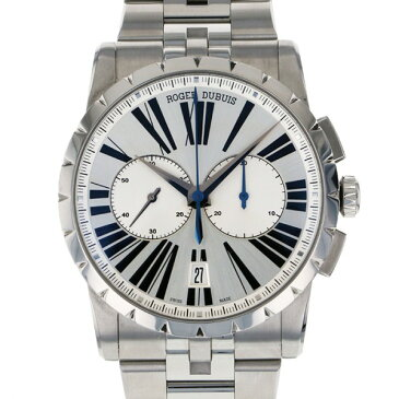 ロジェ・デュブイ ROGER DUBUIS エクスカリバー 42 マイクロローター クロノグラフ RDDBEX0400 シルバー文字盤 メンズ 腕時計 【中古】