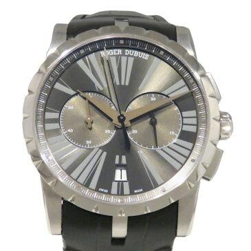 ロジェ・デュブイ ROGER DUBUIS エクスカリバー 42 マイクロローター クロノグラフ RDDBEX0387 グレー文字盤 メンズ 腕時計 【新品】
