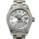 ロレックス ROLEX デイトジャスト 179136G アイスブルー文字盤 レディース 腕時計 【中古】