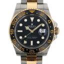 ロレックス ROLEX GMTマスターII 116713LN ブラック文字盤 メンズ 腕時計 【中古】