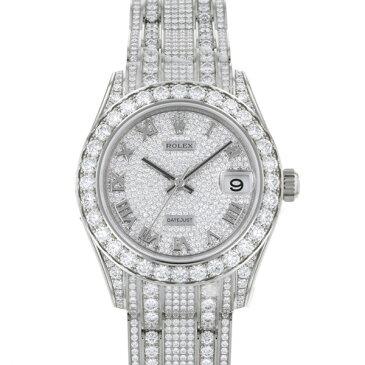 ロレックス ROLEX パールマスター34 81409RBR ダイヤモンド文字盤 レディース 腕時計 【新品】