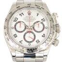 ロレックス ROLEX デイトナ 116509 シルバー文字盤 メンズ 腕時計 【中古】