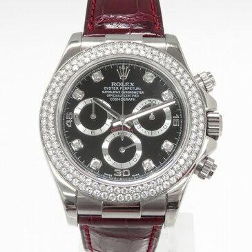 ロレックス ROLEX デイトナ 116589RBRG ブラック文字盤 中古 腕時計 メンズ