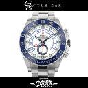 ロレックス ROLEX ヨットマスターII 116680 ホワイト文字盤 メンズ 腕時計 【中古】