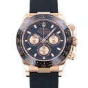 ロレックス ROLEX デイトナ 116515LN ブラック/ピンク文字盤 新品 腕時計 メンズ