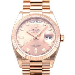 ロレックス ROLEX デイデイト 36 128235A ロゼ文字盤 未使用 腕時計 メンズ