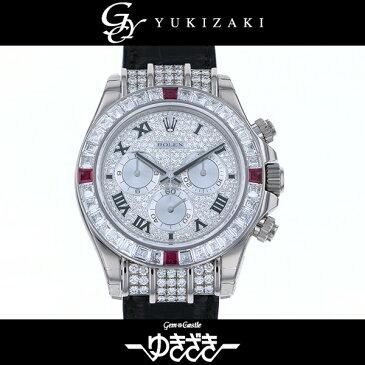 ロレックス ROLEX デイトナ 116599 4RU ZER ダイヤモンド文字盤 メンズ 腕時計 【新品】