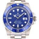 ロレックス ROLEX サブマリーナ デイト 116619LB ブルー文字盤 メンズ 腕時計 【中古 ...