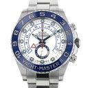 ロレックス ROLEX ヨットマスター II 116680 ホワイト文字盤 メンズ 腕時計 【中古】