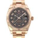 株式会社ジェムキャッスルゆきざきで買える「ロレックス ROLEX スカイドゥエラー 326935 チョコレートアラビア文字盤 メンズ 腕時計 【中古】」の画像です。価格は4,380,000円になります。