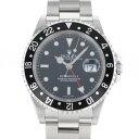 ロレックス ROLEX GMTマスター II 16710 ブラック文字盤 中古 腕時計 メンズ