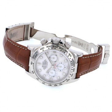 ロレックス ROLEX デイトナ 16519NG ピンク文字盤 中古 腕時計 メンズ