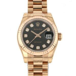 Rolex Datejust 179175G Black Dial Ladies Watch [New]