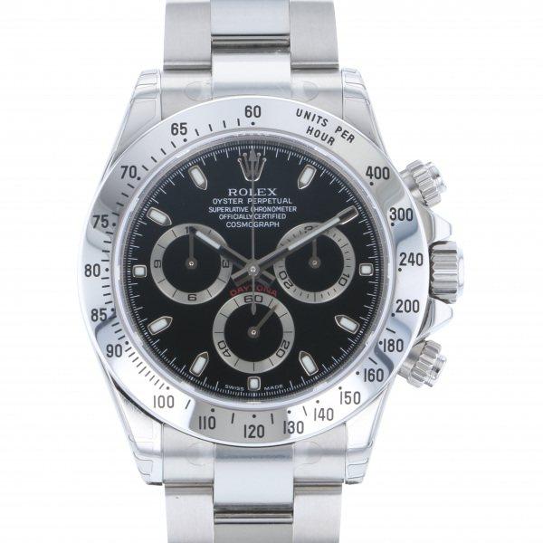 ロレックスROLEXデイトナ116520ブラック文字盤未使用腕時計メンズ