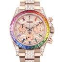 株式会社ジェムキャッスルゆきざきで買える「ロレックス ROLEX デイトナ レインボー パヴェダイヤ 116595RBOW 全面ダイヤ文字盤 メンズ 腕時計 【新品】」の画像です。価格は48,800,000円になります。