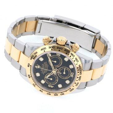 ロレックス ROLEX デイトナ 116503G ブラック文字盤 新品 腕時計 メンズ