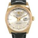ロレックス ROLEX デイデイト36 118135 シルバー文字盤 メンズ 腕時計 【新品】