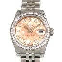 ロレックス ROLEX デイトジャスト 179384G ピンクゴールドクリスタル文字盤 レディース 腕時計 【新品】