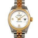 ロレックス ROLEX デイトジャスト 1791732BR ホワイト文字盤 レディース 腕時計 【新品】