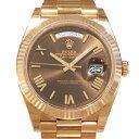 株式会社ジェムキャッスルゆきざきで買える「ロレックス ROLEX デイデイト 40 228235 チョコレートローマ文字盤 メンズ 腕時計 【新品】」の画像です。価格は3,866,400円になります。