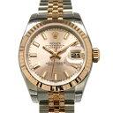 ロレックス ROLEX デイトジャスト 179171 ピンク文字盤 レディース 腕時計 【新品】