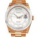 ロレックス ROLEX デイデイト36 セルティ 118395BR ホワイトシェルカルーセル文字盤 メンズ 腕時計 【新品】