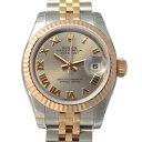 ロレックス ROLEX デイトジャスト 179171 グレーローマ文字盤 レディース 腕時計 【新品】