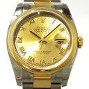 ロレックス ROLEX デイトジャスト 116203 シャンパンローマ文字盤 メンズ 腕時計 【新品】