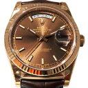 株式会社ジェムキャッスルゆきざきで買える「ロレックス ROLEX デイデイト 36 118135 チョコレート文字盤 メンズ 腕時計 【新品】」の画像です。価格は2,430,000円になります。