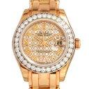 ロレックス ROLEX デイトジャスト パールマスター29 80285NR ホワイト/ロータスフラワー文字盤 新品 腕時計 レディース