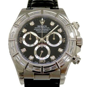 ロレックス ROLEX コスモグラフ デイトナ 116589BR ブラック文字盤 メンズ 腕時計 【新品】