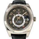 ロレックス ROLEX スカイドゥエラー 326139 ブラック文字盤 メンズ 腕時計 【新品】