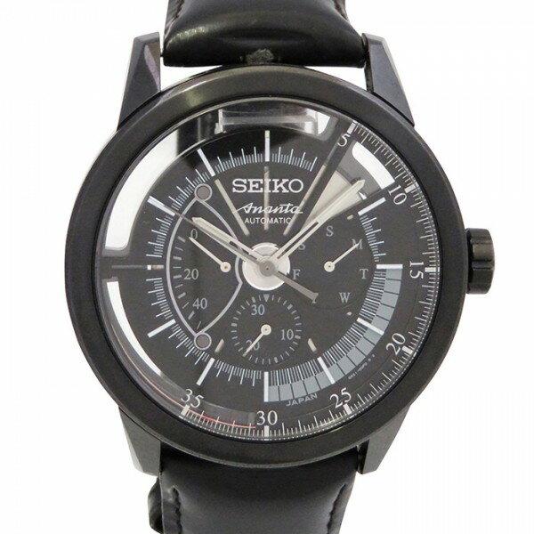セイコー SEIKO ブライツ アナンタ 6R21-00F0 ブラック文字盤 メンズ 腕時計 中古:株式会社ジェムキャッスルゆきざき