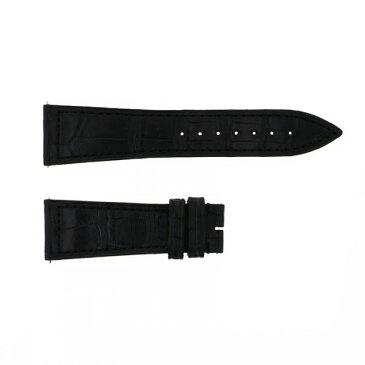 純正ストラップ STRAP フランク・ミュラー ブラック クロコ - メンズ 腕時計替えベルト 【新古品】