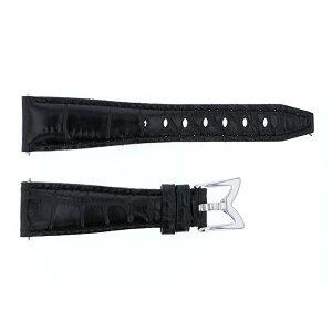 純正ストラップ STRAP ガガミラノ ナポレオーネ 40mm用 ブラックカーフ(型押し) - レディース 腕時計替えベルト 【新品】